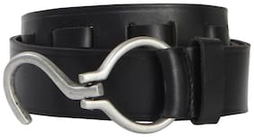 Walletsnbags S Buckle Leather Mens Belt