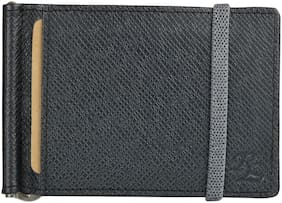 Walletsnbags Elastic Leather Money Clip Wallet For Men