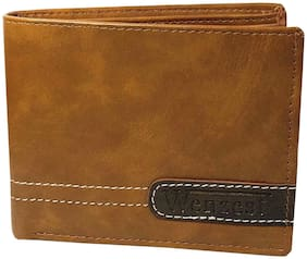 WZ WENZEST Men Tan Pu Bi-Fold Wallet ( Pack of 1 )