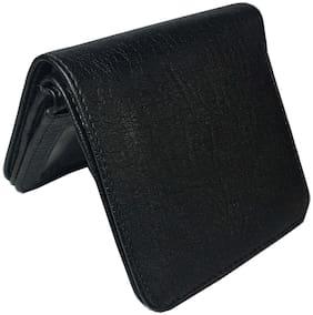 Men PU Bi-Fold Wallet ( Black )