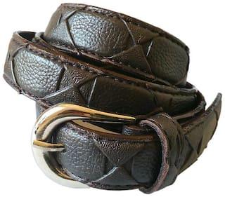Wholesome Deal Women Grey Textured Belt