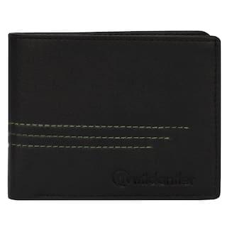 Wildantler Men's Black Artificial Leather Wallet