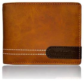Wildantler Tan Brown Artificla Leather Wallets