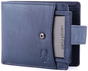 Wildhorn Blue Wallet