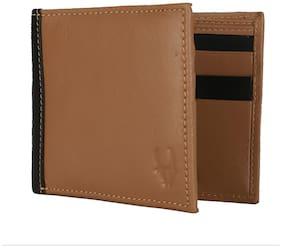 WildHorn Genuine Leather Credit Card Holder Brown Men's Wallet