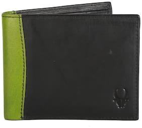 WildHorn Genuine Leather Black Men's Wallet