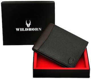 WILDHORN NEW HIGH QUAILITY GENUINE MEN S LEATHER WALLET