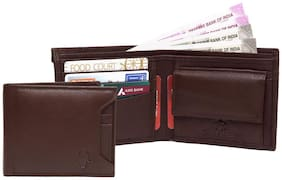 WildHorn Old River Brown Genuine High Quality Mens Leather Wallet