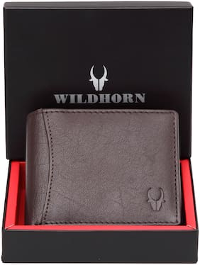 WILDHORN RFID Protected Leather Men's Wallet