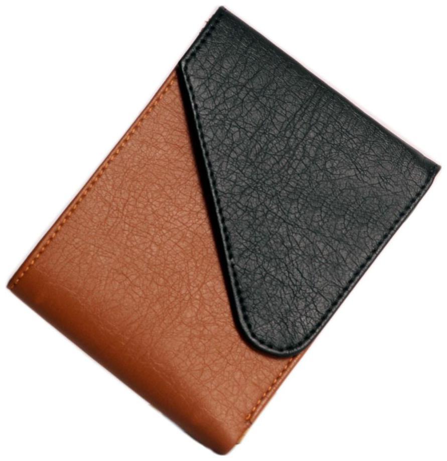 Wildland Men Black, Tan Artificial Leather Wallet by GS Luggage