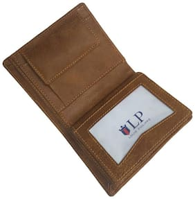 Wildmount Men Tan Leather Bi-Fold Wallet ( Pack of 1 )
