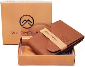 Wildmount Men Tan Artificial Leather Wallet