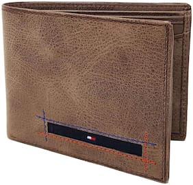 Wildmount Men Brown Leather Bi-Fold Wallet ( Pack of 1 )