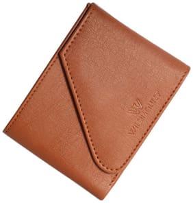 Wildmount Men Tan Artificial Leather Wallet  (5 Card Slots)