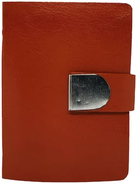 Wildmount Men Tan  Artificial Leather Card Holder