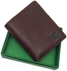 Wildmount Men Tan Leather Bi-Fold Wallet ( Pack of 1 )