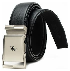 Winsome Black Formal Belt for Men's