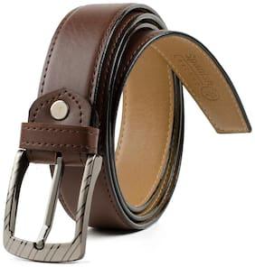 Winsome Formal Brown Belt For Men's