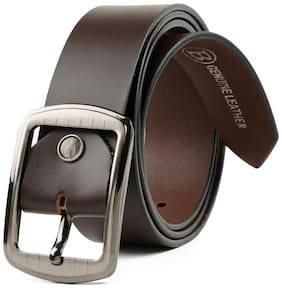 Winsome Sexy Brown Leather Belt For Men's