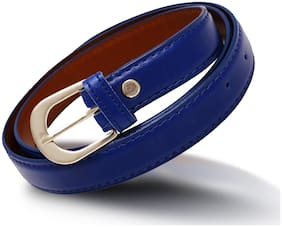 Women Belt Blue