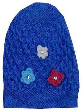 Women Wool Caps ( Blue )