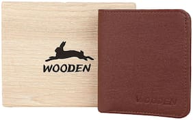 Men PU Money Clips;Bi-Fold Wallet ( Brown )