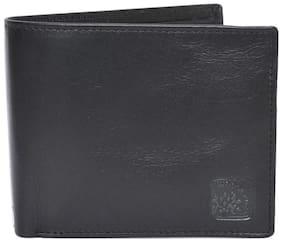 Woodland Black Leather Formal Wallet Art W521004BLK