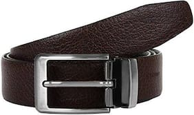BlacKing Brown&Black Faux Leather Casual Belt