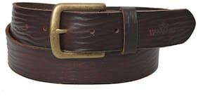 Woodland Brown Leather Belt