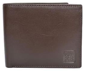 Woodland Brown Leather Formal Wallet Art W521008BRN