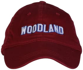 WOODLAND MEN'S MAROON CAP