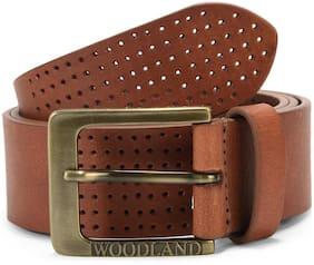 Men Leather Belts ( Tan )