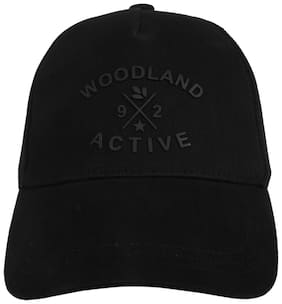WOODLAND MEN'S BLACK CAP