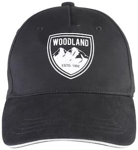 WOODLAND MEN'S BLACK CAP