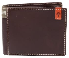 Woodland Men's Brown Leather Wallet (W 116)