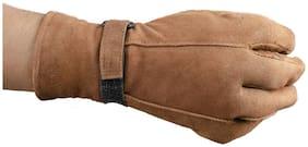 Woodline Tan Winter Leather Gloves For Men's