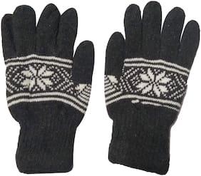 Aadikart Unisex Wool Glove - Grey