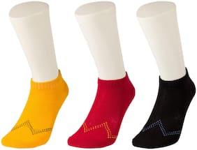 Wrangler Multi Colour Casual Ankle Length Socks For Women