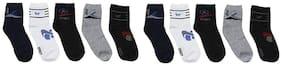ZACHARIAS Men's Ankle Socks Pack of 10 Pair