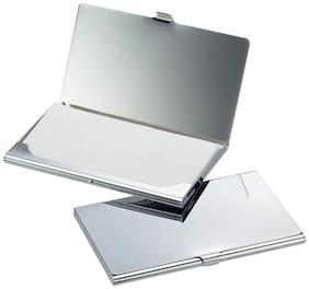 ZARSA Grey Stainless Steel Card Holder