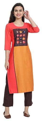 1 Stop Fashion Women Multi Printed Regular Kurta