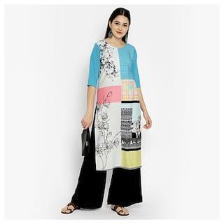 1 Stop Fashion Women Multi Floral Regular Kurta