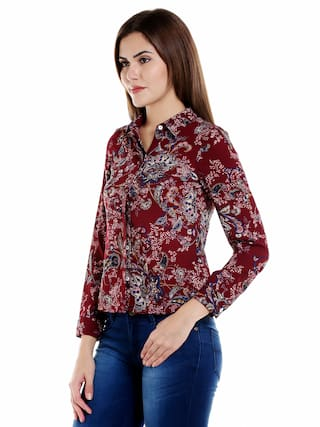 109°F Multi Color Printed Shirt XL Size