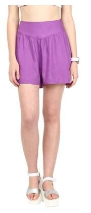 109 F Purple Shorts
