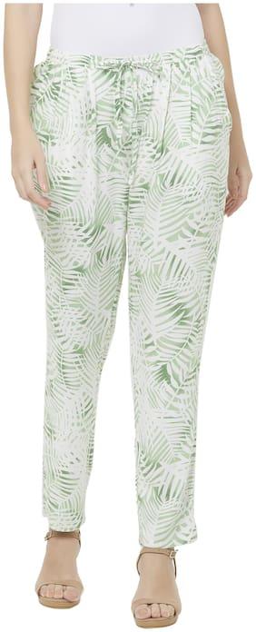 109°F Women Beige Regular fit Regular pants