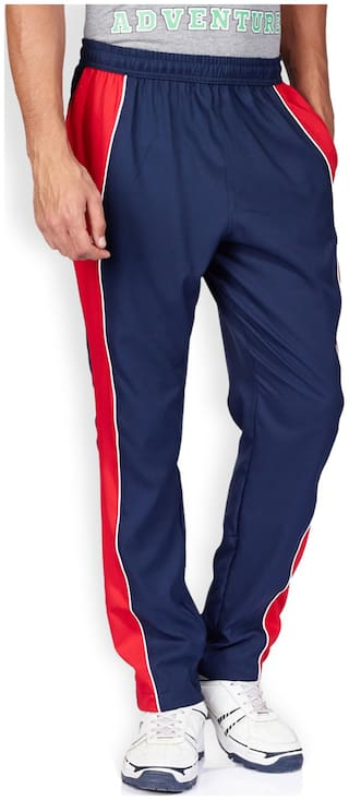 56193a93c9 Buy 2GO Men Blended Track Pants - Blue Online at Low Prices in India ...