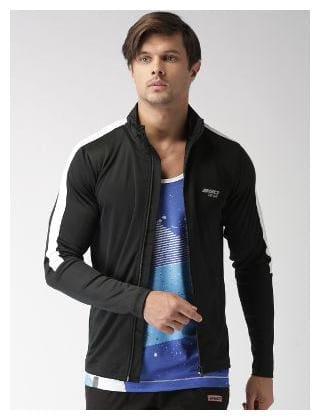 2GO Bold Black Full Sleeves Jacket