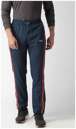9d9fd8dc78 Buy 2GO Men Polyester Track Pants - Navy blue Online at Low Prices ...