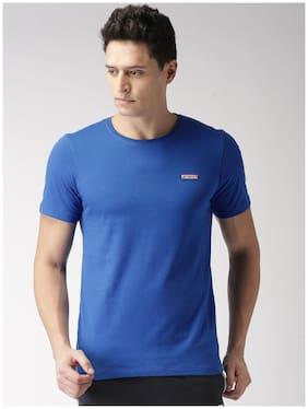 2Go Men Round Neck Sports T-Shirt - Blue