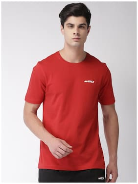 2Go Men Round Neck Sports T-Shirt - Red